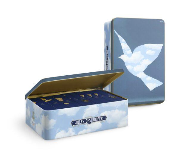Geschenkblik Magritte XL Bird 1070g