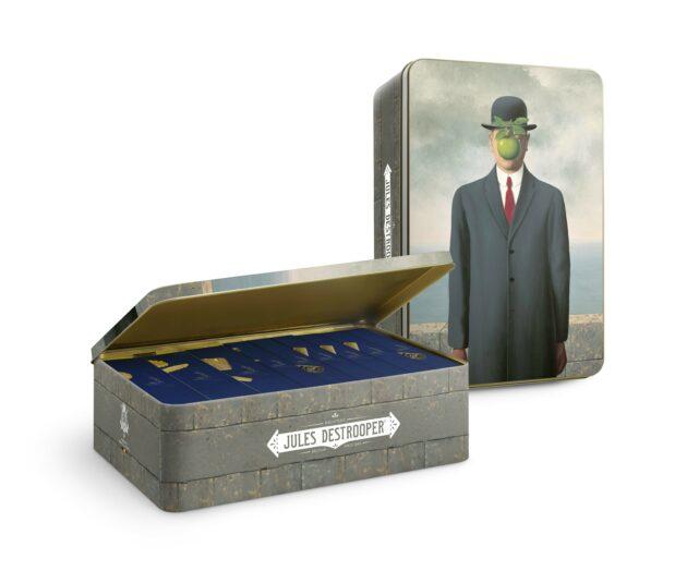 Geschenkblik Magritte XL Fils de l'Homme 1070g